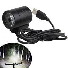 Elegante Intenso 1200LM XM-L L2 T6 LED USB Con Chivato Luminoso Bicicleta Ligero