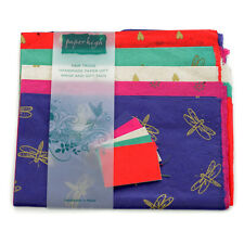 Fair Trade Lokta Paper Five Sheet Gift Wrap Pack GWP115