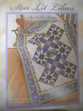 Star Lit Lilacs Quilt Fabric Kit by Debbie Beaves for RJR Fabrics Heirloom Lilac