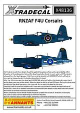 Xtra Decals 1/48 VOUGHT F4U CORSAIR Royal New Zealand Air Force