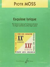 Esquisse lyrique pour Basson et Piano - Moss Piotr