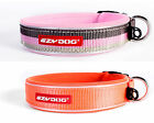 EZYDOG Dog Collar Reflective Padded Neoprene All Sizes