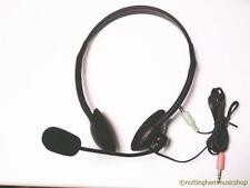 PC HEADPHONES MICROPHONE HEADSET SKYPE GAMES MSN NEW