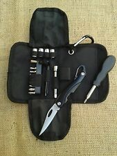 Bmw r1200 C/Montauk Add on set Tool Set + bordo cuchillo/Knife todos bauj.