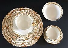 Haviland Limoges France Schleiger Clover Leaf 100 PC Dinnerware Set Antique