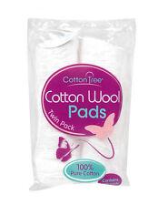 140pc cotone grezzo PADS +100% cotone + NAIL VERNICI MAKE-UP salute bellezza cosmetici
