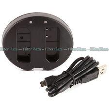 Dual Battery Charger For Nikon EN-EL14 EL14a D5600 D5500 D5300 D3400 D3300 MH-24