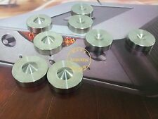 4Set Solid Steel HiFi Speaker CD amp Isolation Spike Stand Feet Base 24mm
