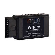 1X WiFi OBD2 OBDII ELM327 Car Diagnostic Scanner Tool For iPhone Android PC HOT