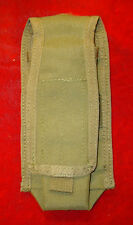 OD Green Molle Radio - 2 Magazine Pouch w/ Velcro Flap