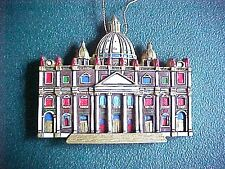 CATHEDRALS OF THE WORLD CHRISTMAS ORNAMENT ST. PETER'S BASILICA