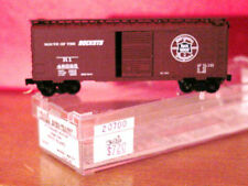 KD 20700 ROCK ISLAND 40' Box Car #48325 'ROUTE OF THE ROCKETS' MINT N-SCALE