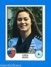 SPORT SUPERSTARS -Panini 1982- Figurina-Sticker n. 303 - LINDA JEZEK -USA-New