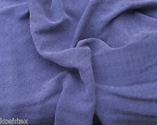 Tencel Jaquard Woven Fabric by the Yard Purple Squares Soft & Silky Feel