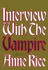 """VERY GOOD COND"" INTERVIEW WITH THE VAMPIRE by Anne Rice (1992) HARDCOVER"