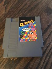 Qbert (Nintendo Entertainment System, 1989) NES Cart NE1