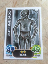 STAR WARS Force Awakens - Force Attax Trading Card #051 Death Star Droid