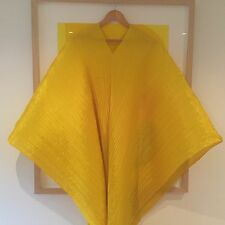 Pleats Please Issey Miyake Madame T Warm Yellow Brand New With Tags