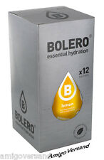 Bolero DRINKS – Lemon Getränkepulver - 12 Beutel für 18L