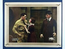 Rare PRIVATE SCANDAL Movie Poster 1921 Half Sheet Silent Film May McAvoy 4021