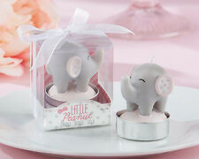 24 Little Peanut Elephant Shaped Candles Baby Shower Favor Birthday Favors