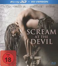 Scream at the Devil **UNCUT** Blu Ray *** 3D + 2D***  Edition ***NEU OVP***