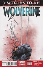 WOLVERINE #9 / 3 MONTHS TO DIE / 1ST PRINT / MARVEL COMICS FREE SHIPPING IN USA