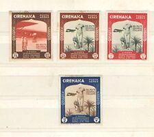 P7538 - CIRENAICA 1934 - LOTTO ARTE COLONIALE N. 27/29 AEREA - VEDI FOTO