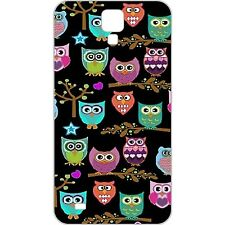 AS425 Cute Cartoon Owls On Tree Back Cover Hard Case For SAMSUNG GALAXY S4 i9500