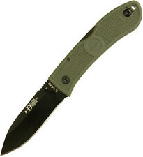 Ka-Bar KaBar Dozier Foliage Green Folding Hunter Plain 4062FG