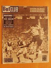 But & Club 234 du 15/5/1950-L'heure de Reims a sonné en Coupe le goal Simibaldi