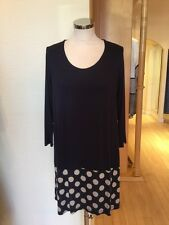 James Lakeland Tunic Top Size 10 BNWT Navy Cream RRP £79 Now £27