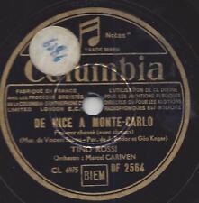 Tino Rossi mit Orchester : La Belle Conga + De Nice a Monte Carlo