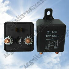 New 12V 120A Heavy Duty Split Charge ON/OFF Relay Car Truck Boat