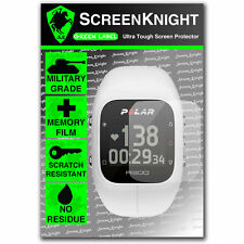 Screenknight polare A300 GPS SMART WATCH Front Screen Protector INVISIBLE SHIELD