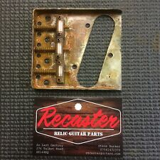 �� Recaster Rusty Relic Tele Telecaster Ferrous Ashtray Bridge 3 Saddle Type