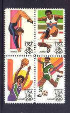 ESTADOS UNIDOS/USA 1983 MNH SC.C101/C104  O.G. Los Angeles
