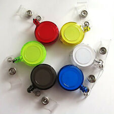 5x Retractable Reel Recoil Badge Lanyard Name Tag Card Holder Belt Clip Top Sale