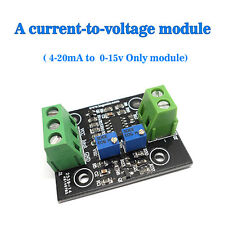 Current to Voltage 4-20mA To 0-15V Conversion Sensor Module Only Module