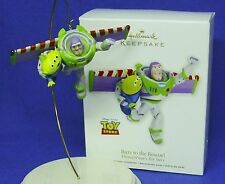 Hallmark Ornament Disney Pixar Toy Story Buzz to the Rescue 2012 Lightyear Alien