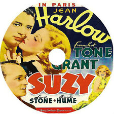 SUZY DVD Jean Harlow Franchot Tone Cary Grant Lewis Stone 1936 V Rare