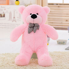 Hot !Brand New Big Stuffed Plush Teddy Bear Soft Doll Toy S0401-Pink-80cm 31inch