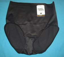 WACOAL~L 7~809258~Black Zoned 4 Shape Shaper Brief Shapewear