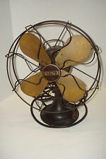 Vintage Eskimo Electic Fan United Electrical Mfg Co., Cast Iron Base