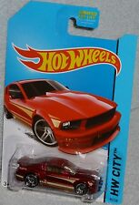 2014 HOT WHEELS '07 Ford Mustang Col. #95/250 HW CITY
