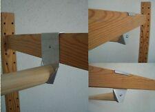 2 Kleiderhaken Halter für Kleiderstange für IKEA IVAR