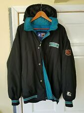 Vintage 90's NHL San Jose Sharks Jacket By Starter. Men's Medium.