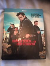 In Bruges German Blu-ray Steelbooks Good Condition Fast Dispatch Colin Farrell