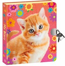Peaceable Kingdom / Pretty Kitty Lock & Key Diary by Peaceable Kingdom BRAND NEW