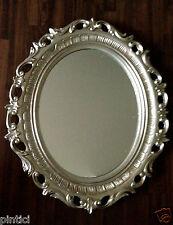 Wandspiegel Oval AltSilber Wandspiegel Barock Oval 68x58 Spiegel Oval Badspiegel